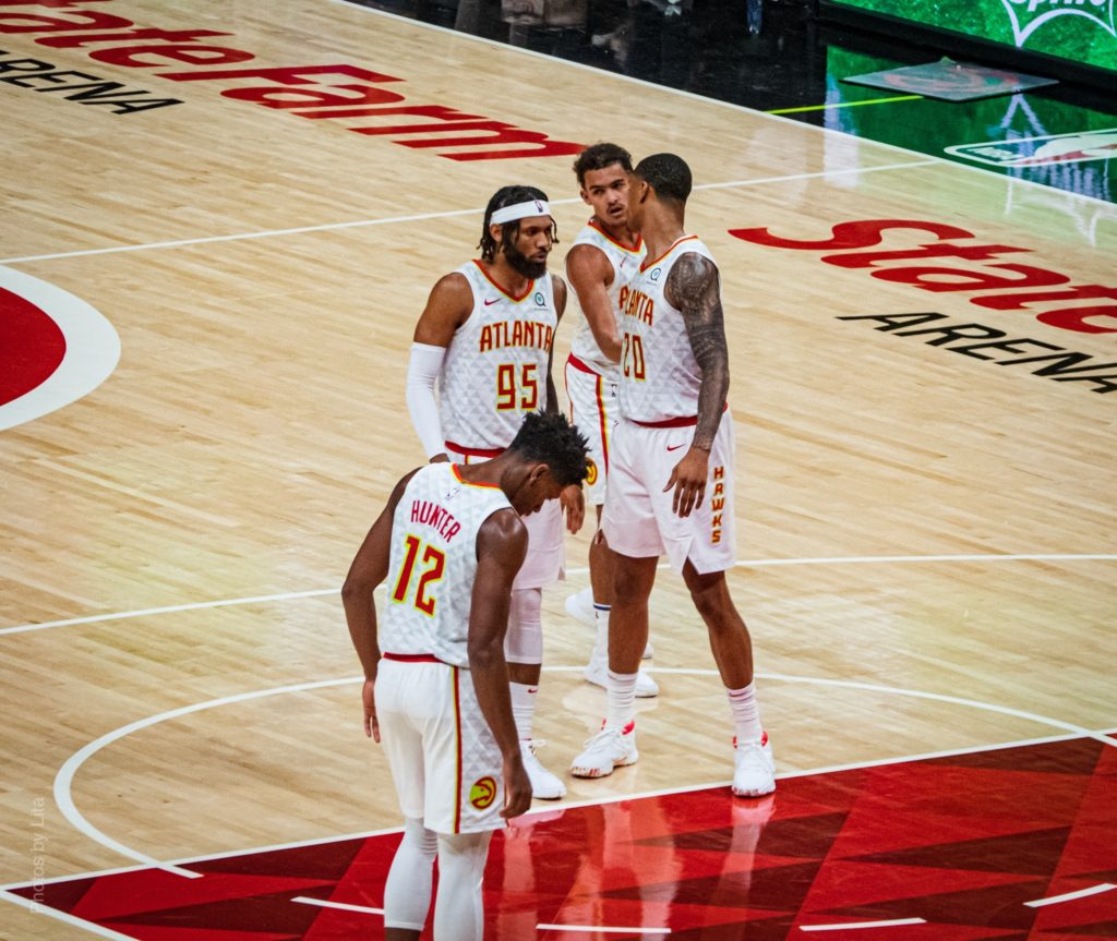 Trae Young leads Hawks to season-opener win over Pistons