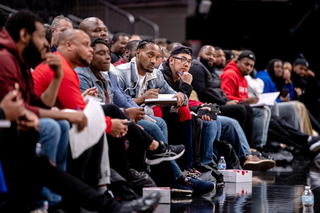 Local Coaches Listen to Industry Experts at the Atlanta Hawks Coaches Clinic